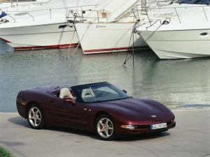 Chevrolet Corvette Convertible 50th Anniversary 2002 года